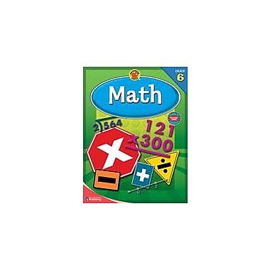Carson-Dellosa Publishing Brigther Child Math, Grade 6 Workbook By Brighter Child, Grade 6 [eBook]