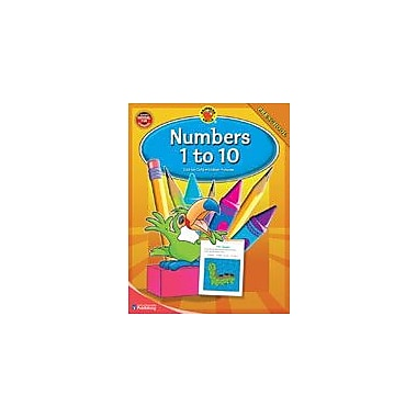 Carson-Dellosa Publishing Numbers 1-10 Workbook By Brighter Child, Preschool [eBook]