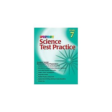 Carson-Dellosa Publishing Science Test Practice, Grade 7 Workbook [eBook]
