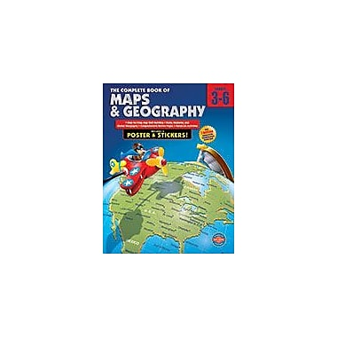 Carson-Dellosa Publishing The Complete Book Of Maps And Geography, Grades 3 - 6 Workbook, Grade 3 - Grade 6 [eBook]