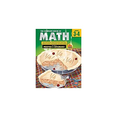 Carson-Dellosa Publishing The Complete Book Of Math, Grades 3 - 4 Workbook, Grade 3 - Grade 4 [eBook]