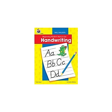 Carson-Dellosa Publishing Beginning Modern Manuscript Handwriting Skill Builder Workbook, Kindergarten - Grade 2 [eBook]