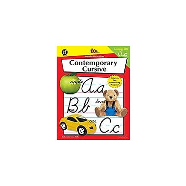 Carson-Dellosa Publishing Contemporary Cursive, Grades K - 6 Workbook, Kindergarten - Grade 6 [eBook]