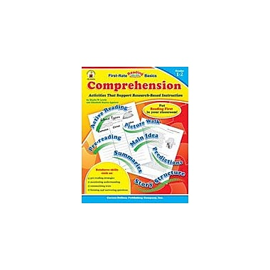 Carson-Dellosa Publishing Comprehension, Grades 1-2 Workbook By Starin, Lewis, Grade 1 - Grade 2 [eBook]