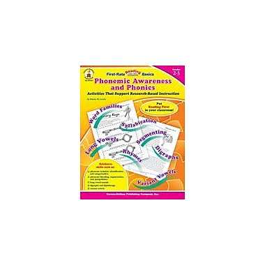 Carson-Dellosa Publishing Phonemic Awareness And Phonics, Grades 2-3 Workbook By Starin, Lewis, Grade 2 - Grade 3 [eBook]