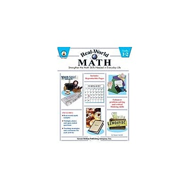 Carson-Dellosa Publishing Real-World Math, Grades 1-2 Workbook By Carroll, Susan, Grade 1 - Grade 2 [eBook]