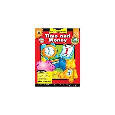 Carson-Dellosa Publishing Time And Money Workbook By Fensham, Elizabeth, Kindergarten - Grade 1 [eBook]