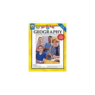 Carson-Dellosa Publishing Hands-On Geography, Grades 6-8 Workbook By Ray Mcclellan, Grade 6 - Grade 8 [eBook]