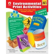 Carson-Dellosa Publishing Environmental Print Activities Workbook By Wahl, Jan; Wong, Nicole, Preschool - Grade 1 [eBook]