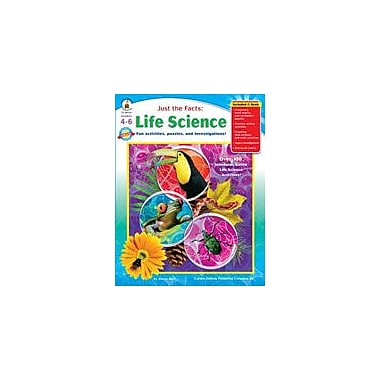 Carson-Dellosa Publishing Just The Facts: Life Science Workbook By Rich, Steve, Grade 4 - Grade 6 [eBook]