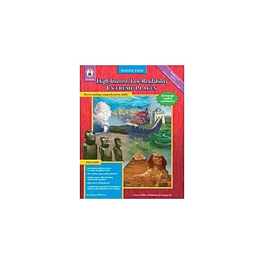 Carson-Dellosa Publishing High-Interest/Low-Readability Nonfiction: Extreme Places Workbook, Grade 4 [eBook]