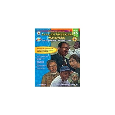 Carson-Dellosa Publishing African American Achievers Workbook By Wheeler, Kathryn, Grade 3 - Grade 5 [eBook]