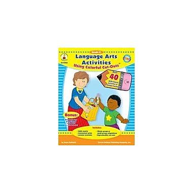Carson-Dellosa Publishing Language Arts Activities With Cut-Outs Kindergarten Workbook By Kohfeldt, Joyce, Kindergarten [eBook]