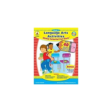 Carson-Dellosa Publishing Language Arts Activities With Cut-Outs, Grade 1 Workbook By Kohfeldt, Joyce, Grade 1 [eBook]