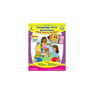 Carson-Dellosa Publishing Language Arts Activities With Cut-Outs, Grade 3 Workbook By Kohfeldt, Joyce, Grade 3 [eBook]