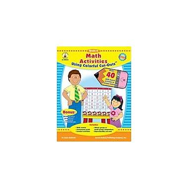 Carson-Dellosa Publishing Math Activities With Cut-Outs Kindergarten Workbook By Kohfeldt, Joyce, Kindergarten [eBook]