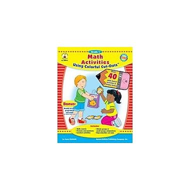 Carson-Dellosa Publishing Math Activities With Cut-Outs, Grade 1 Workbook By Kohfeldt, Joyce, Grade 1 [eBook]