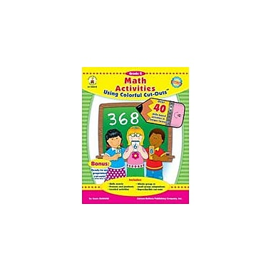 Carson-Dellosa Publishing Math Activities With Cut-Outs, Grade 2 Workbook By Kohfeldt, Joyce, Grade 2 [eBook]