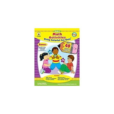 Carson-Dellosa Publishing Math Activities With Cut-Outs, Grade 3 Workbook By Kohfeldt, Joyce, Grade 3 [eBook]
