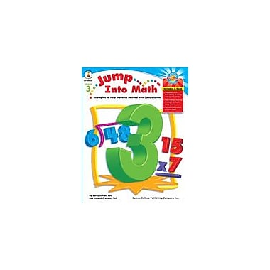 Carson-Dellosa Publishing Jump Into Math, Grade 3 Workbook By Graham, Leland, Grade 3 [eBook]