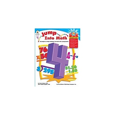 Carson-Dellosa Publishing Jump Into Math, Grade 4 Workbook By Graham, Leland, Grade 4 [eBook]