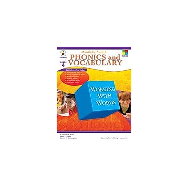 Carson-Dellosa Publishing Month-By-Month Phonics And Vocabulary, Grade 4 Workbook By Arens, Amanda, Grade 4 [eBook]