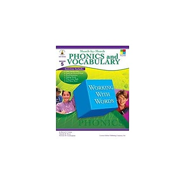 Carson-Dellosa Publishing Month-By-Month Phonics And Vocabulary, Grade 5 Workbook By Arens, Amanda, Grade 5 [eBook]
