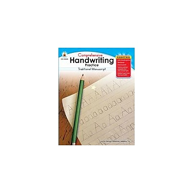 Carson-Dellosa Publishing Handwriting Practice: Traditional Manuscript, Grades K-1 Workbook, Kindergarten - Grade 1 [eBook]