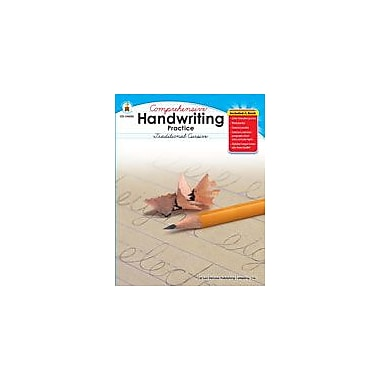Carson-Dellosa Publishing Handwriting Practice: Traditional Cursive, Grades 2-5 Workbook, Grade 2 - Grade 5 [eBook]