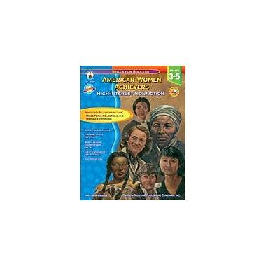Carson-Dellosa Publishing American Women Achievers Workbook By Wheeler, Kathryn, Grade 3 - Grade 5 [eBook]