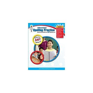 Carson-Dellosa Publishing Differentiated Spelling Practice, Grade 3 Workbook [eBook]