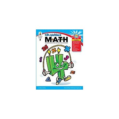 Carson-Dellosa Publishing Rib-Ticklers Math, Grade 4 Workbook By Andrews, Carolyn, Grade 4 [eBook]