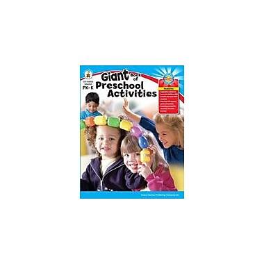 Carson-Dellosa Publishing Giant Book Of Preschool (PK Activities) Workbook, Preschool - Kindergarten [eBook]