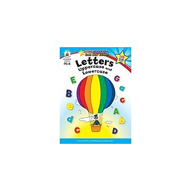Carson-Dellosa Publishing Letters: Uppercase And Lowercase, Grades Pk - K Workbook, Preschool - Kindergarten [eBook]