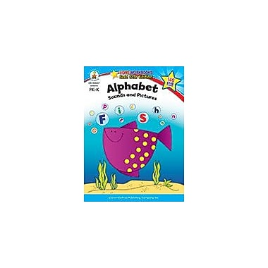 Carson-Dellosa Publishing Alphabet, Grades Pk - K Workbook, Preschool - Kindergarten [eBook]