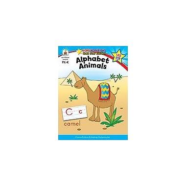 Carson-Dellosa Publishing Alphabet Animals, Grades Pk - K Workbook, Preschool - Kindergarten [eBook]