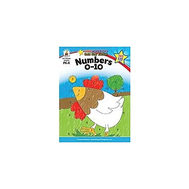 Carson-Dellosa Publishing Numbers 0-10, Grades Pk - K Workbook, Preschool - Kindergarten [eBook]