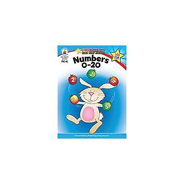 Carson-Dellosa Publishing Numbers 0-20, Grades Pk - K Workbook, Preschool - Kindergarten [eBook]