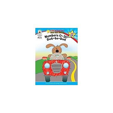 Carson-Dellosa Publishing Numbers 0-30: Dot-To-Dot, Grades Pk - K Workbook, Preschool - Kindergarten [eBook]
