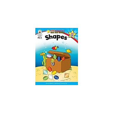 Carson-Dellosa Publishing Shapes, Grades Pk - K Workbook, Preschool - Kindergarten [eBook]