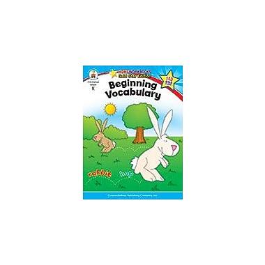 Carson-Dellosa Publishing Beginning Vocabulary, Grade K Workbook, Kindergarten [eBook]