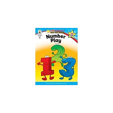 Carson-Dellosa Publishing Number Play, Grade K Workbook, Kindergarten [eBook]