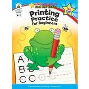 Carson-Dellosa Publishing Printing Practice For Beginners, Grades K - 1 Workbook, Kindergarten - Grade 1 [eBook]