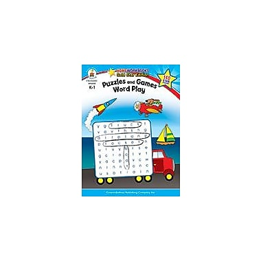 Carson-Dellosa Publishing Puzzles And Games: Word Play, Grades K - 1 Workbook, Kindergarten - Grade 1 [eBook]