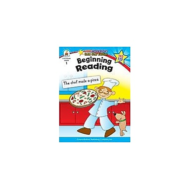 Carson-Dellosa Publishing Beginning Reading, Grade 1 Workbook [eBook]
