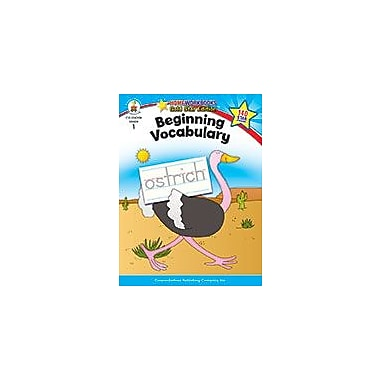 Carson-Dellosa Publishing Beginning Vocabulary, Grade 1 Workbook [eBook]