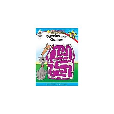 Carson-Dellosa Publishing Puzzles And Games, Grade 1 Workbook [eBook]
