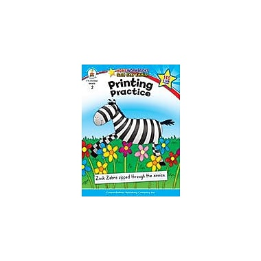 Carson-Dellosa Publishing Printing Practice, Grade 2 Workbook [eBook]