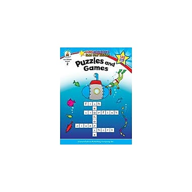 Carson-Dellosa Publishing Puzzles And Games, Grade 2 Workbook [eBook]