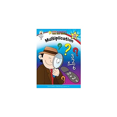 Carson-Dellosa Publishing Multiplication, Grade 3 Workbook [eBook]